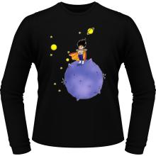 T-Shirts à manches longues  parodique Végéta : Le Petit Prince Saiyan (Parodie )
