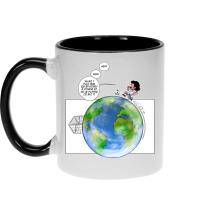 Mugs  parodique Olivier et Atone : Le Plus grand terrain de foot du Monde ! (Parodie )