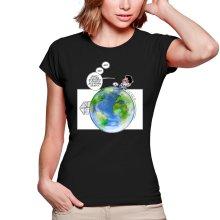 T-shirts Femmes  parodique Olivier et Atone : Le Plus grand terrain de foot du Monde ! (Parodie )