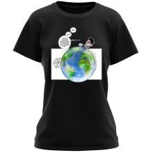 T-shirts Femmes (French Days)  parodique Olivier et Atone : Le Plus grand terrain de foot du Monde ! (Parodie )