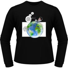 T-Shirts à manches longues  parodique Olivier et Atone : Le Plus grand terrain de foot du Monde ! (Parodie )