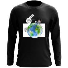 T-Shirts à manches longues (French Days)  parodique Olivier et Atone : Le Plus grand terrain de foot du Monde ! (Parodie )