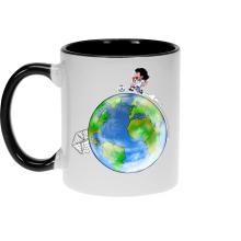 Mugs  parodique Olivier Atone : Le plus grand terrain de foot du Monde :) (Version collector) (Parodie )
