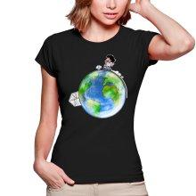 T-shirts Femmes  parodique Olivier Atone : Le plus grand terrain de foot du Monde :) (Version collector) (Parodie )