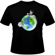 T-shirts  parodique Olivier Atone : Le plus grand terrain de foot du Monde :) (Version collector) (Parodie )