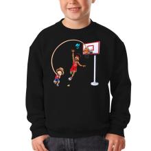 Sweat-shirts  parodique Luffy : Le Roi des Pirates... et du Playground !! (Parodie )
