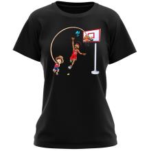 T-shirt Femme  parodique Luffy : Le Roi des Pirates... et du Playground !! (Parodie )