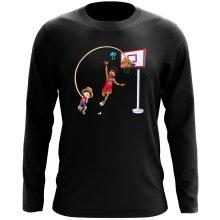 T-Shirt à manches longues  parodique Luffy : Le Roi des Pirates... et du Playground !! (Parodie )
