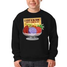 Sweat-shirts  parodique Fruit du Démon : Le secret de la forme des pirates de Grand Line ! (Parodie )