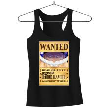 Débardeurs  parodique Edward Newgate - Barbe Blanche : Le Wanted secret... :) (Parodie )