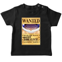 T-shirts  parodique Edward Newgate - Barbe Blanche : Le Wanted secret... :) (Parodie )