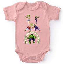Body bébé (Filles)  parodique Piccolo, Broly et Hulk : Les origines de la Puissance... (Parodie )