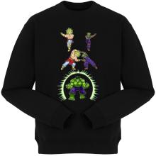 Pulls  parodique Piccolo, Broly et Hulk : Les origines de la Puissance... (Parodie )