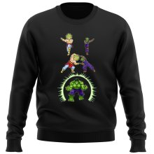 Funny  Sweater - Broly, Piccolo and Hulk ( Parody) (Ref:674)