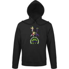 Sweats à capuche  parodique Piccolo, Broly et Hulk : Les origines de la Puissance... (Parodie )