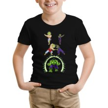 Funny  Kids T-Shirt - Broly, Piccolo and Hulk ( Parody) (Ref:674)
