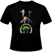 T-shirts  parodique Piccolo, Broly et Hulk : Les origines de la Puissance... (Parodie )