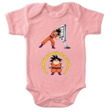 Funny  Baby Bodysuit (Baby Girls) - Son Goku ( Parody) (Ref:1075)