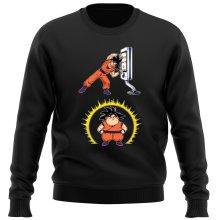 Funny  Sweater - Son Goku ( Parody) (Ref:1075)
