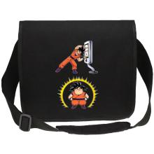 Funny  Canvas Messenger Bag - Son Goku ( Parody) (Ref:1075)