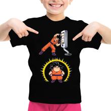 T-shirt Enfant Fille  parodique Sangoku : Mac Fusion !! (Parodie )