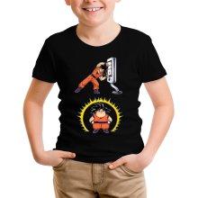Funny  Kids T-Shirt - Son Goku ( Parody) (Ref:1075)