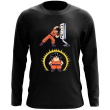 T-Shirt à manches longues  parodique Sangoku : Mac Fusion !! (Parodie )