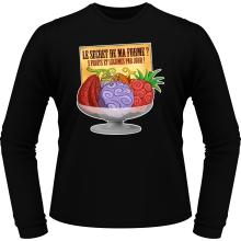 T-Shirts à manches longues  parodique Fruit du Démon : Le secret de la forme des pirates de Grand Line ! (Parodie )