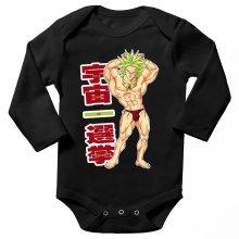 Funny  Long sleeve Baby Bodysuit - Broly ( Parody) (Ref:356)