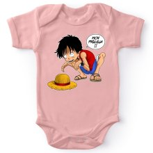 Body bébé (Filles)  parodique Luffy et Gollum : Mon Précieux (Super Deformed) (Parodie )