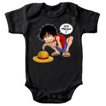 Body bébé  parodique Luffy et Gollum : Mon Précieux (Super Deformed) (Parodie )