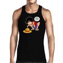 Débardeur  parodique Luffy et Gollum : Mon Précieux (Super Deformed) (Parodie )