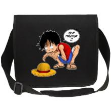 Sacs bandoulière Canvas  parodique Luffy et Gollum : Mon Précieux (Super Deformed) (Parodie )