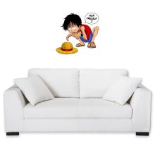 Sticker Mural  parodique Luffy et Gollum : Mon Précieux (Super Deformed) (Parodie )