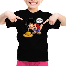 T-shirt Enfant Fille  parodique Luffy et Gollum : Mon Précieux (Super Deformed) (Parodie )