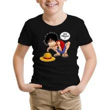 T-shirt Enfant  parodique Luffy et Gollum : Mon Précieux (Super Deformed) (Parodie )