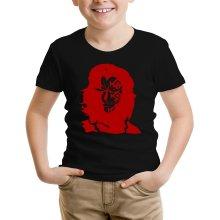 T-shirt Enfant  parodique Monkey D Dragon : Monkey Che Dragon le Révolutionnaire (Parodie )