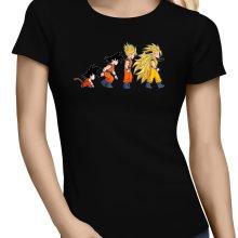 T-shirts Femmes  parodique Sangoku : New Evolution - Super Vénère 3 !! (Parodie )