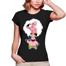 T-shirts Femmes  parodique Patrick l