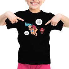 T-shirts  parodique Chopper et Franky : Panne sèche ! (Parodie )