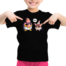 T-shirts  parodique Majin Bou et Patrick : Papa !! (Tel père, tel fils !) (Parodie )