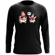 T-Shirts à manches longues  parodique Majin Bou et Patrick : Papa !! (Tel père, tel fils !) (Parodie )