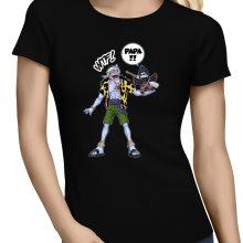 T-shirts Femmes  parodique Arlong et Kisame : Papa... WTF !! (Parodie )