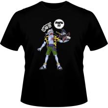 T-shirts  parodique Arlong et Kisame : Papa... WTF !! (Parodie )