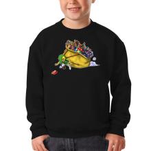 Pull Enfant  parodique Link : Paré pour l