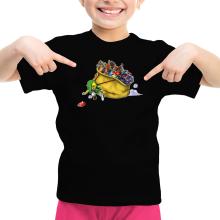 T-shirt Enfant Fille  parodique Link : Paré pour l