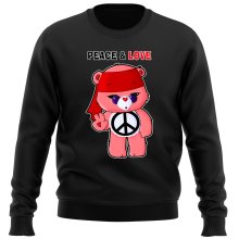 Funny  Sweater - Care Bears - Peace man ( Parody) (Ref:342)