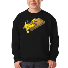 Sweat-shirts  parodique Pikachu : Piège à souris ! (Parodie )