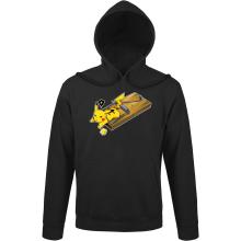 Sweats à capuche  parodique Pikachu : Piège à souris ! (Parodie )