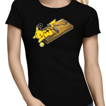 T-shirts Femmes  parodique Pikachu : Piège à souris ! (Parodie )